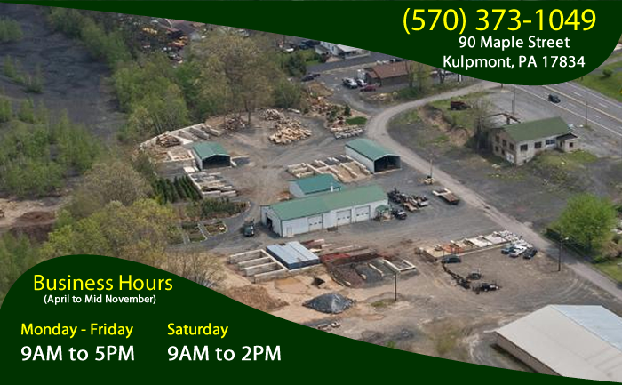 Aerial View and Hours
